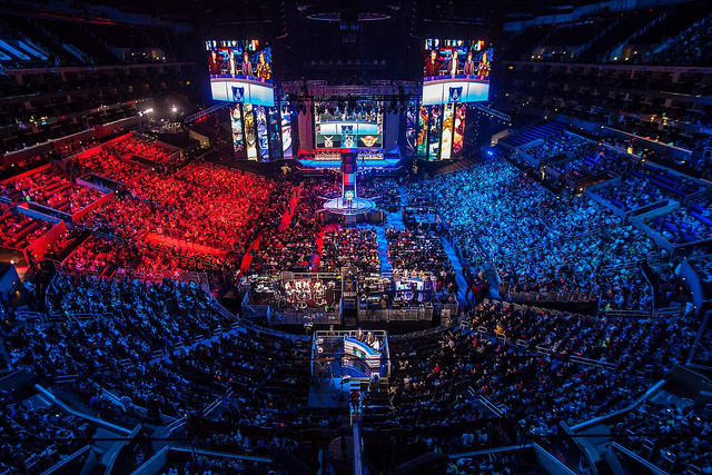 2013 World Championship Finals at the Staples Center, Los Angeles California