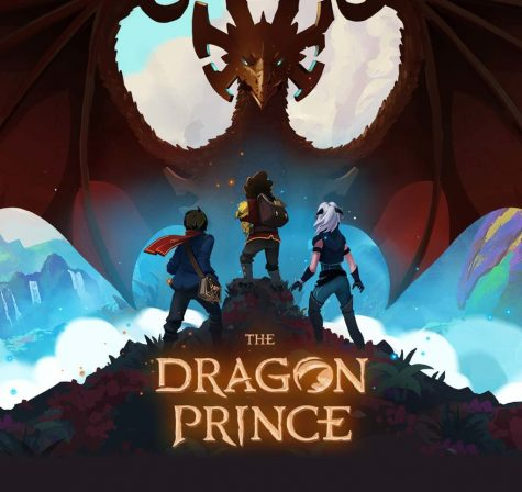The Logo of the Netflix Series The Dragon Prince.