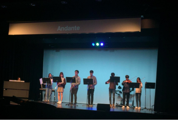 Photo of Andante performing at the Kalahari concert last year