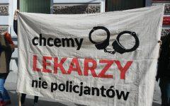 we want doctors, not policemen